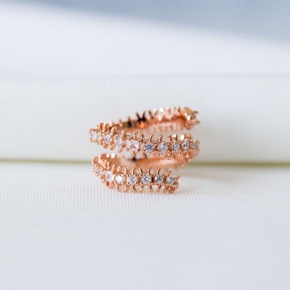 Kendra Scott Jewelry - Kendra Scott Beck Band Ring In Rose Gold